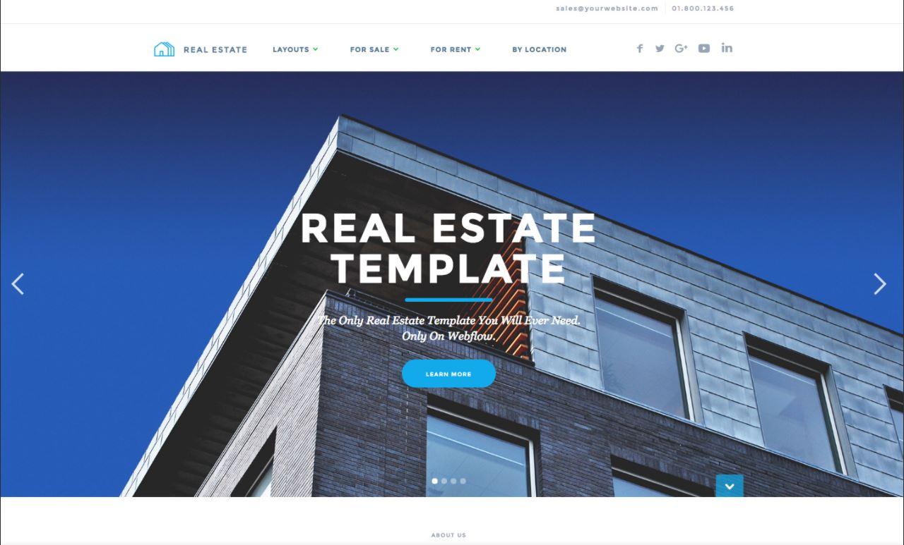 Dịch vụ Website bất động sản