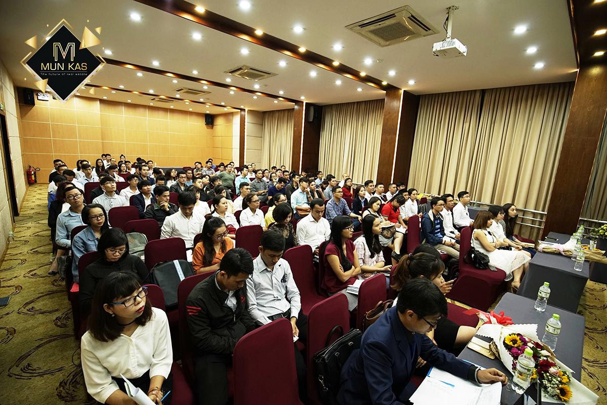 Rất đông anh em lĩnh vực Bất động sản tham dự Workshop