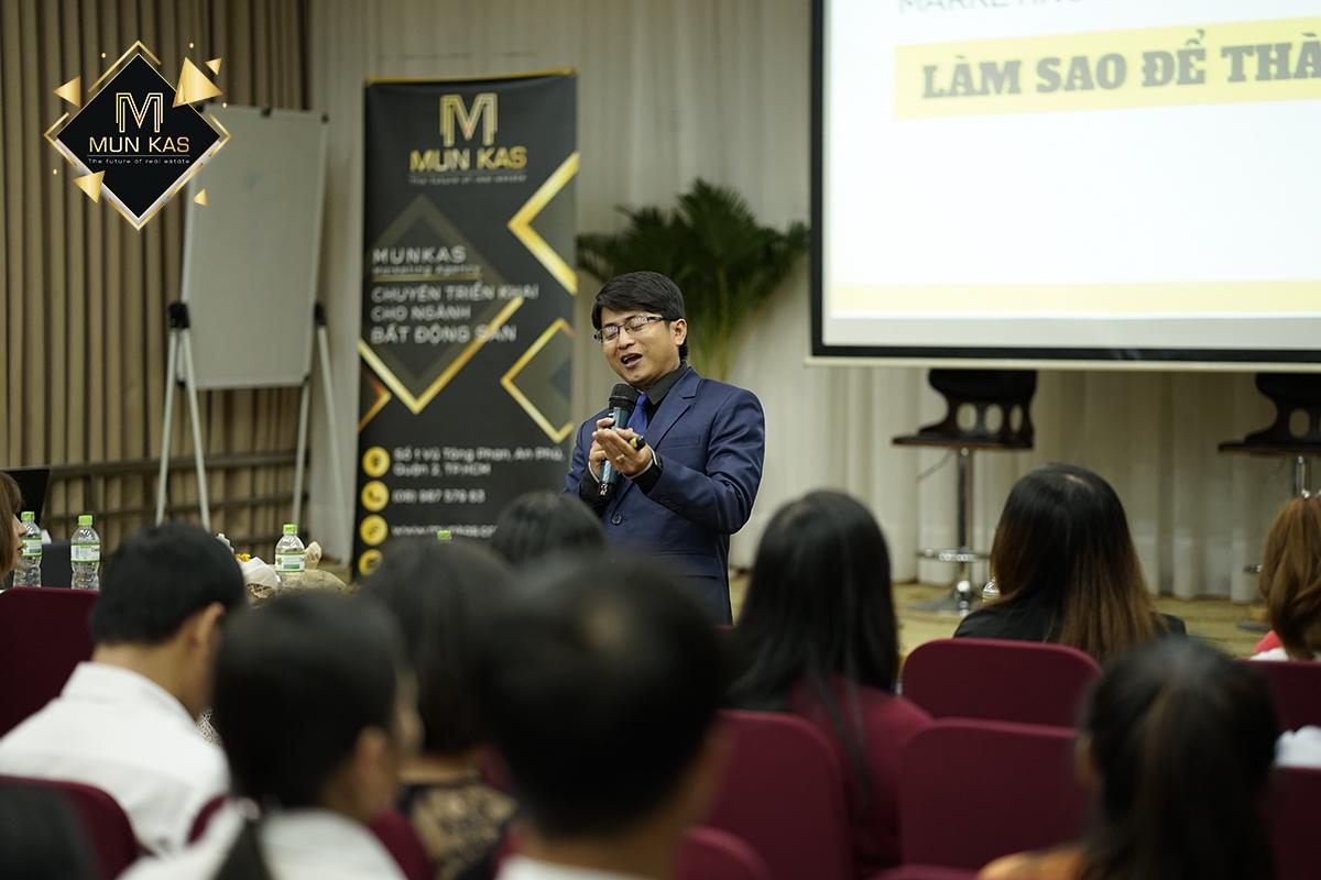 Anh Trần Minh Quang - Giám đốc Marketing Công ty Đất Xanh Miền Nam