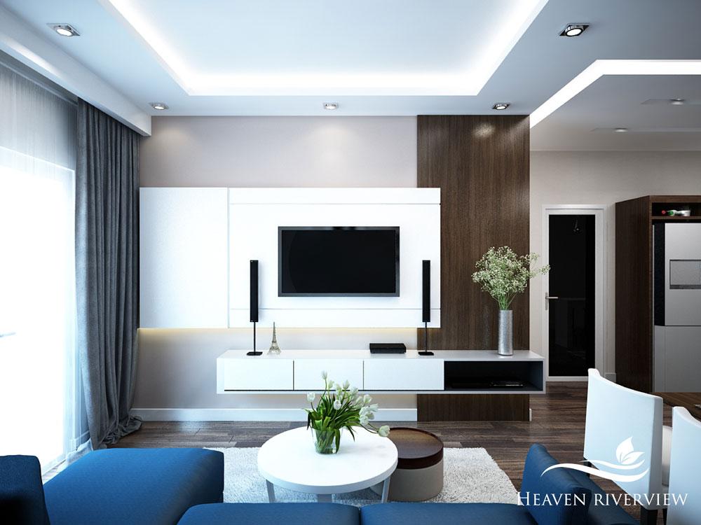 Phòng khách Heaven Riverview