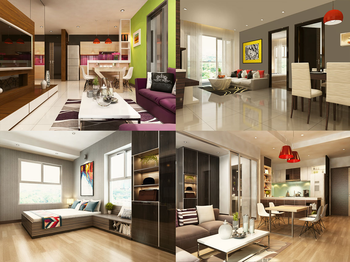 Thiết kế căn hộ Xi Grand Court