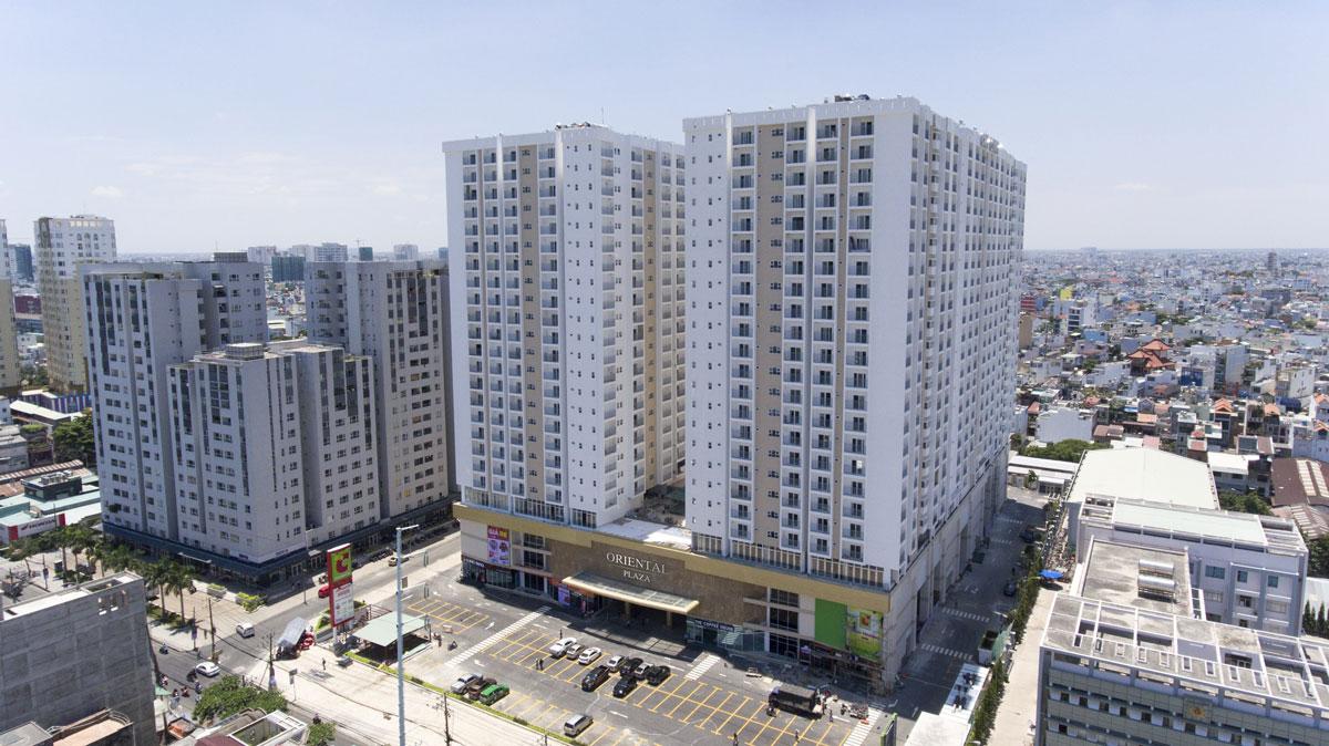 Ảnh thực tế căn hộ Oriental Plaza
