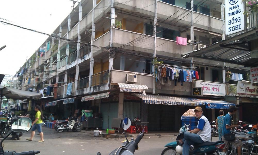 Chung cư Nguyễn Thiện Thuật - 1 trong 9 chung cư xây dựng trước năm 1975 tại quận 3
