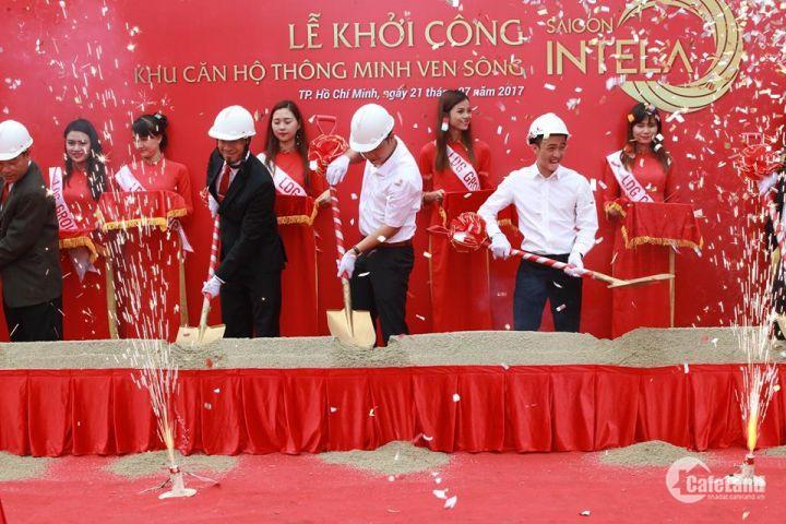 Lễ khởi công Dự án căn hộ thông minh ven sông Saigon Intela