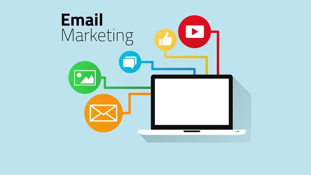 Email Marketing cũng là một phương pháp giúp những người làm BĐS tiết kiệm chi phí