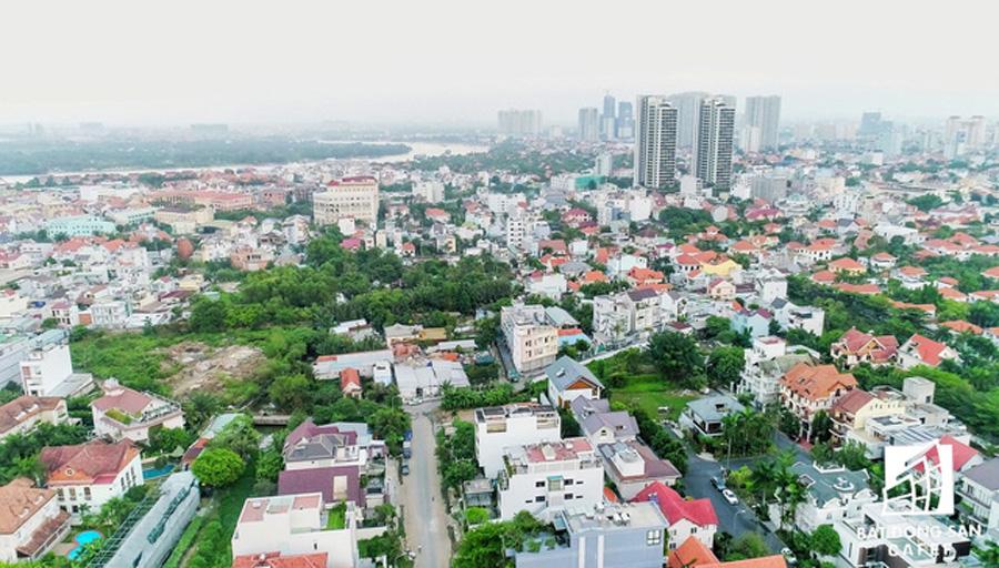 """Dẫu kẹt xe, ngập lụt triền miên """"Nhiệt"""" khu nhà giàu Thảo Điền Q2 vẫn hấp dẫn các dự án BĐS"""
