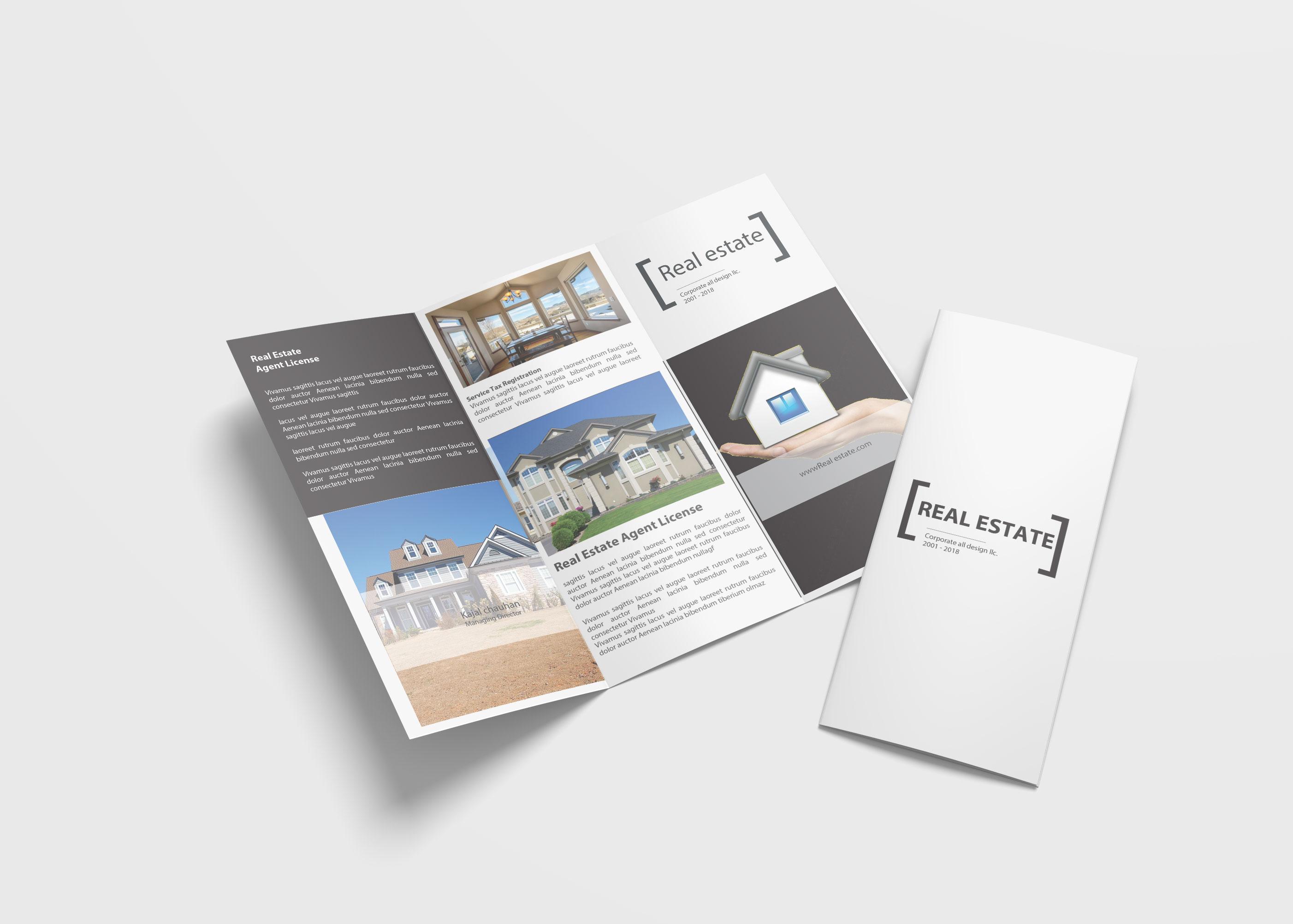 Thiết kế brochure bất động sản ấn tượng giúp tăng doanh số